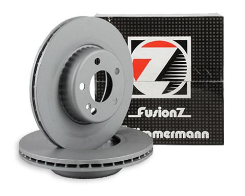Zu sehen ist eine Formula S Bremsscheibe aus dem Zimmermann Bremsen Sortiment