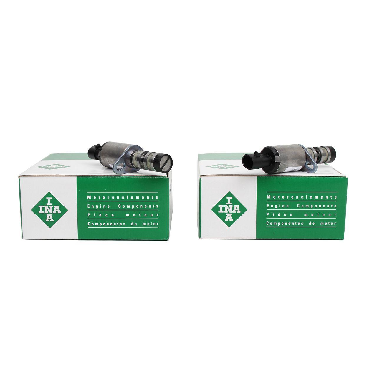 2x INA Nockenwellenversteller Steuerventil OPEL Astra H J Insignia A 1235299