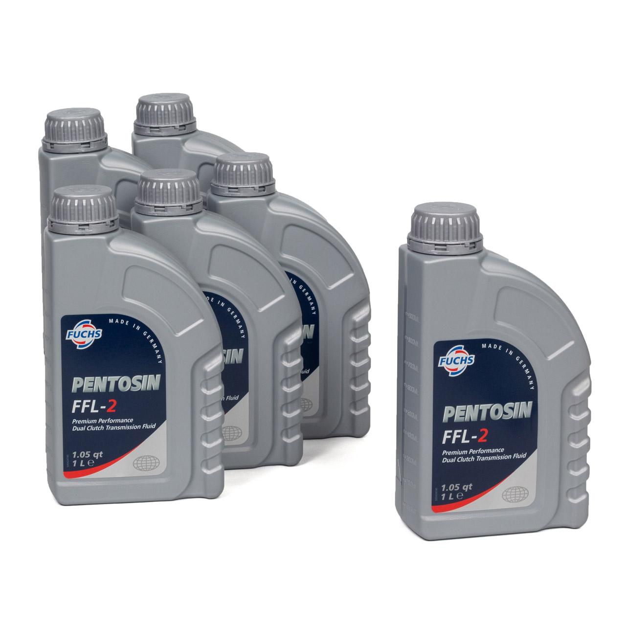 FUCHS Pentosin Getriebeöl Doppelkupplungsgetriebe 6-&7-Gang DSG FFL-2 - 6 Liter