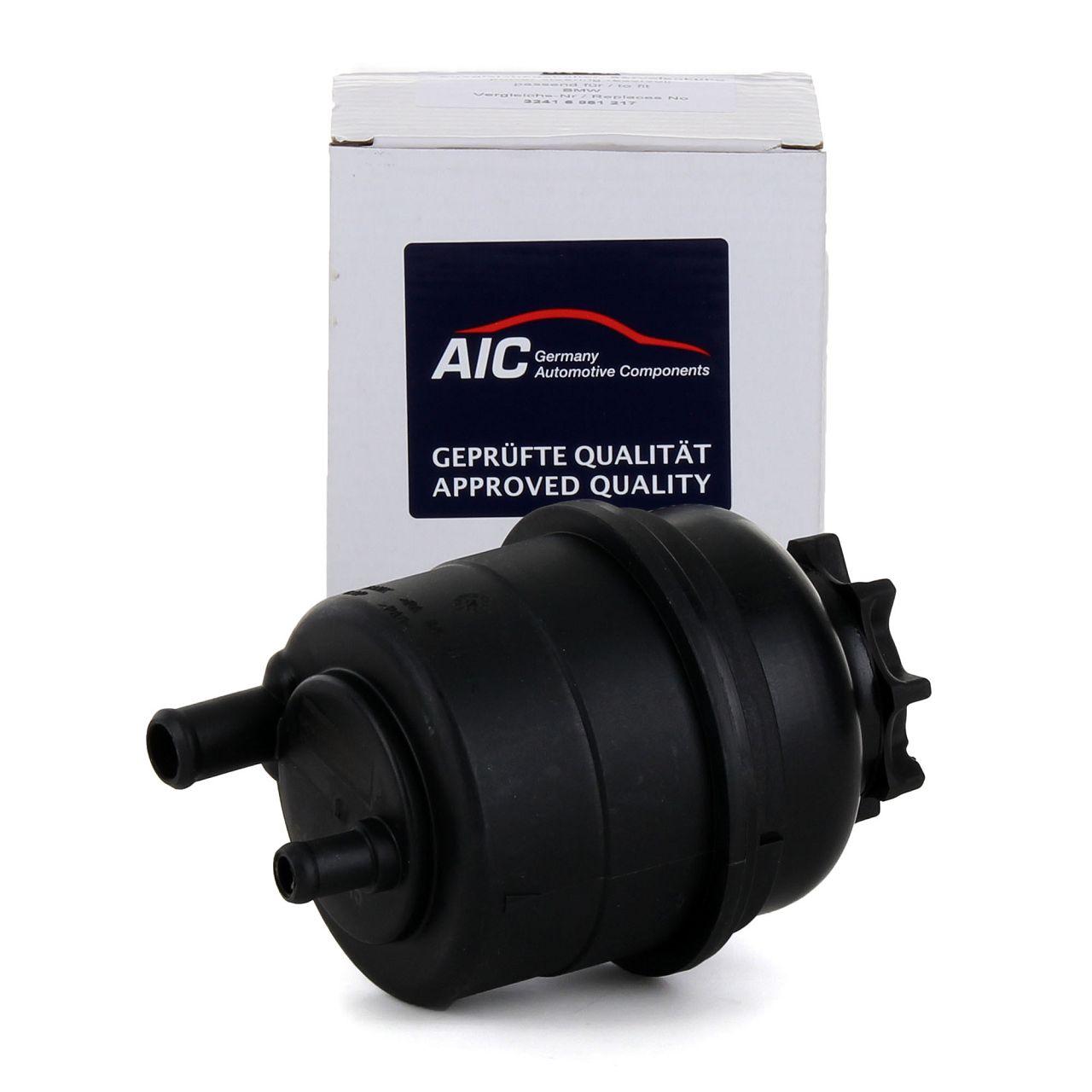 AIC Ausgleichsbehälter Hydrauliköl + Deckel + Filter BMW 1er 3er 5er 6er 7er Xer