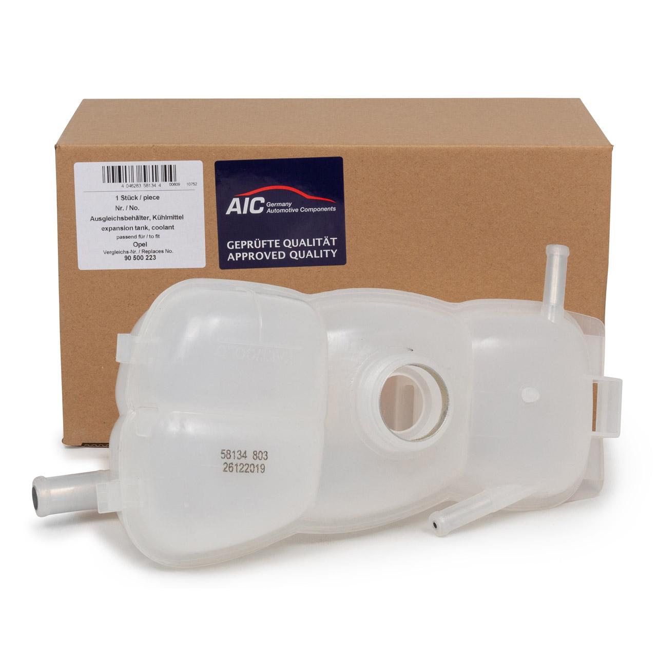 AIC 58134 Ausgleichsbehälter Kühlmittelbehälter OPEL Omega B 90500223 / 1304203