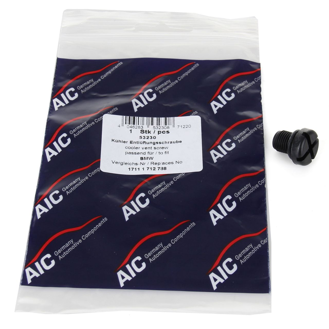 AIC Entlüfterschraube Entlüfterventil Kühler für BMW E81 E36 E46 E90 E91 E34 E39