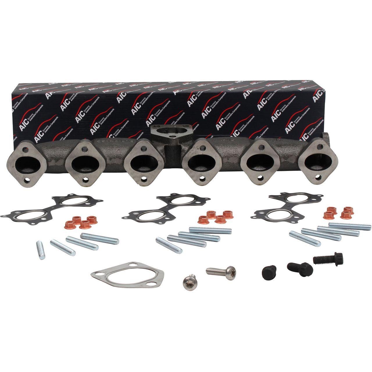 AIC 55749SET Auspuffkrümmer Abgaskrümmer für BMW E46 E60-61 E65-67 E83 E53 M57