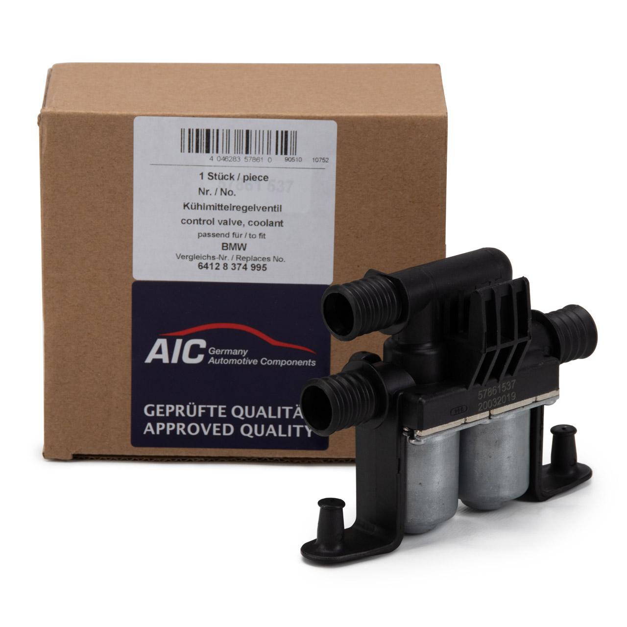 AIC 57861 Kühlmittelregelventil für BMW E39 E38 728i 730-740d X5 E53 64128374995