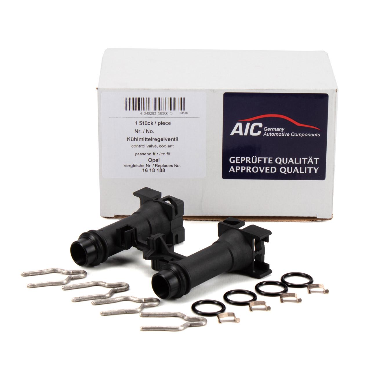 AIC 58306 Heizungsventil Kühlmittelregelventil OPEL Astra G T98 F70 F35 Zafira A 1618188