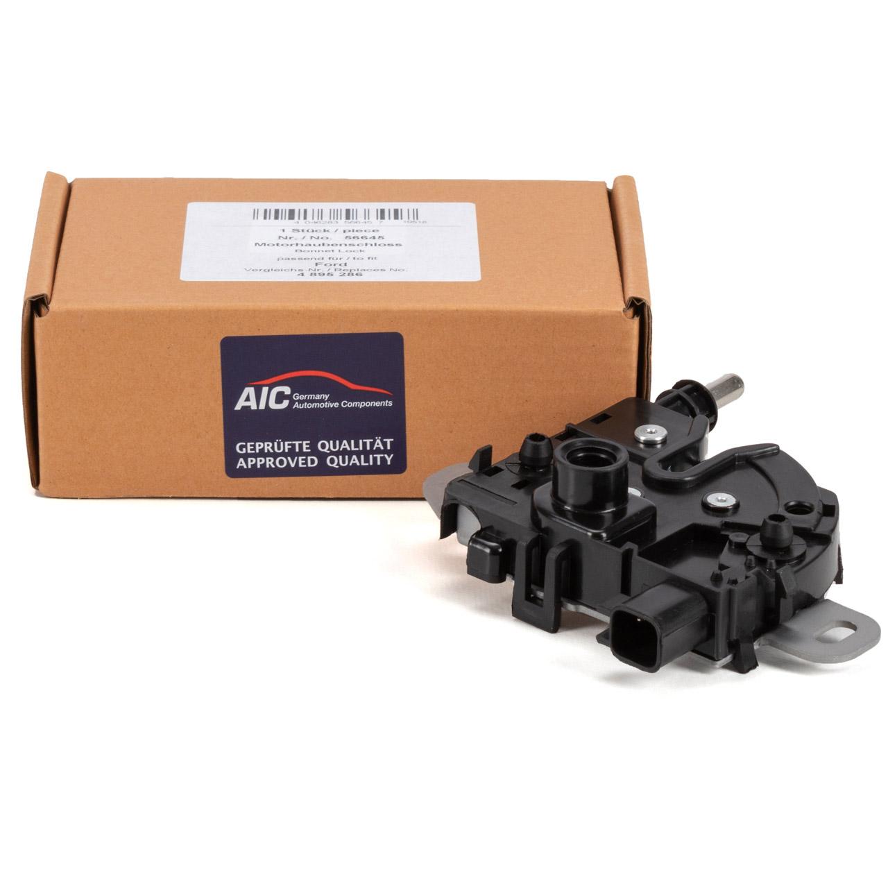 AIC 56645 Motorhaubenschloss Haubenschloss FORD C-Max DM2 Focus 2 MK2 Kuga 1 MK1 4895286