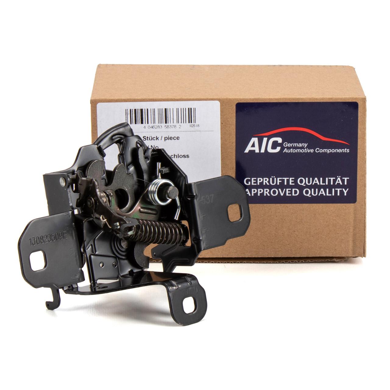 AIC 58378 Motorhaubenschloss Haubenschloss VW Bora 1 1J2 1J6 Golf 4 1J2 1J5 1J0823509C