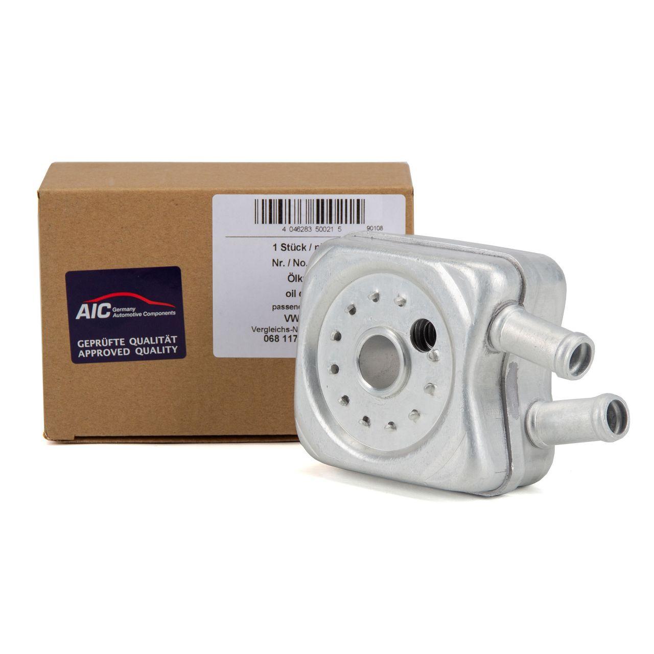 AIC Ölkühler für AUDI 80 100 A4 B5 A6 C4 C5 SEAT ALHAMBRA 7V SKODA VW POLO 6N
