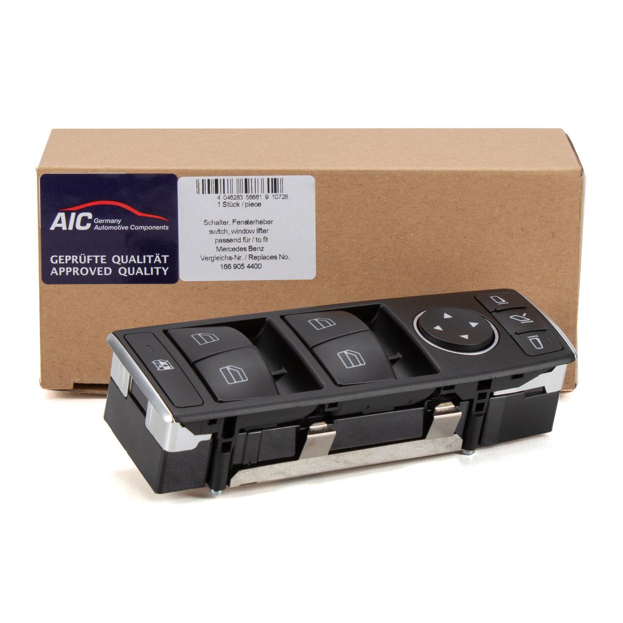 AIC Schalter Fensterheber MERCEDES-BENZ W176 W246 CLA C117 GLE W166 W463 X156 vorne links