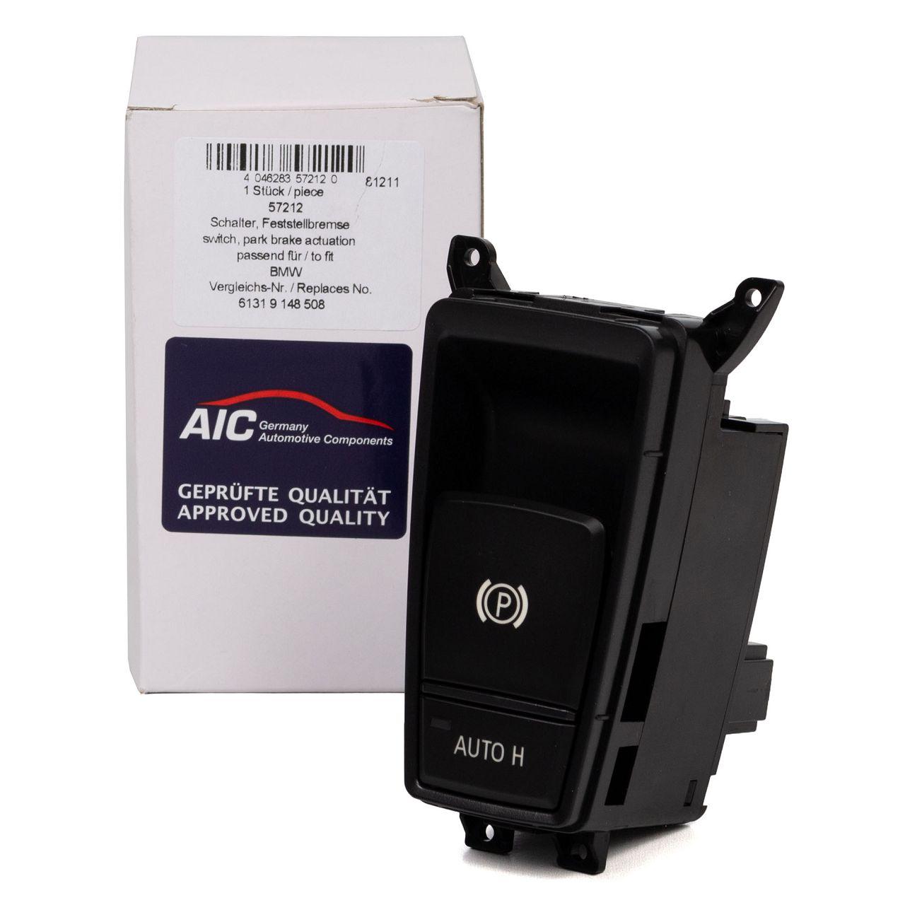 AIC Schalter Taster für elektr. Feststellbremse Handbremse BMW X5 E70 X6 E71 E72