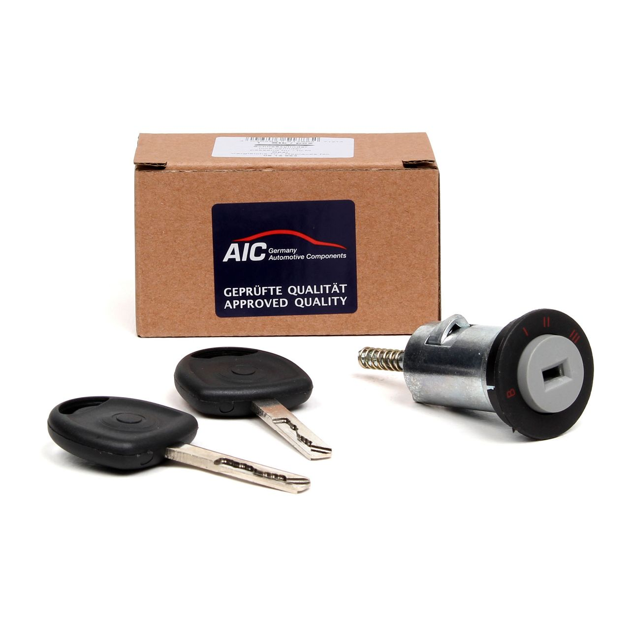 AIC Zündschloss Schließzylinder für Opel CALIBRA A OMEGA B SINTRA VECTRA B