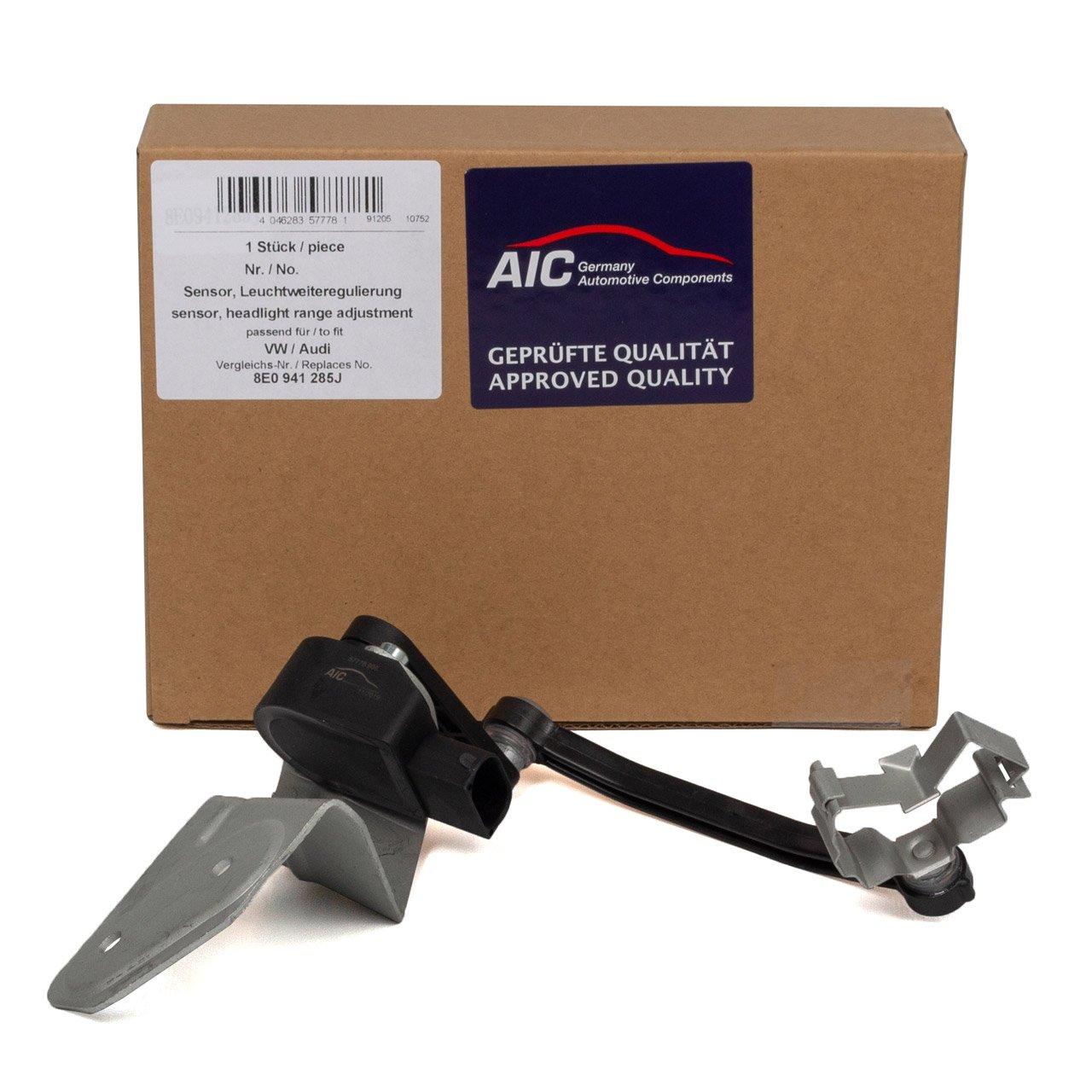 AIC Sensor Leuchtweitenregulierung XENON AUDI A4 B6 Cabrio B7 SEAT Exeo 8E0941285J