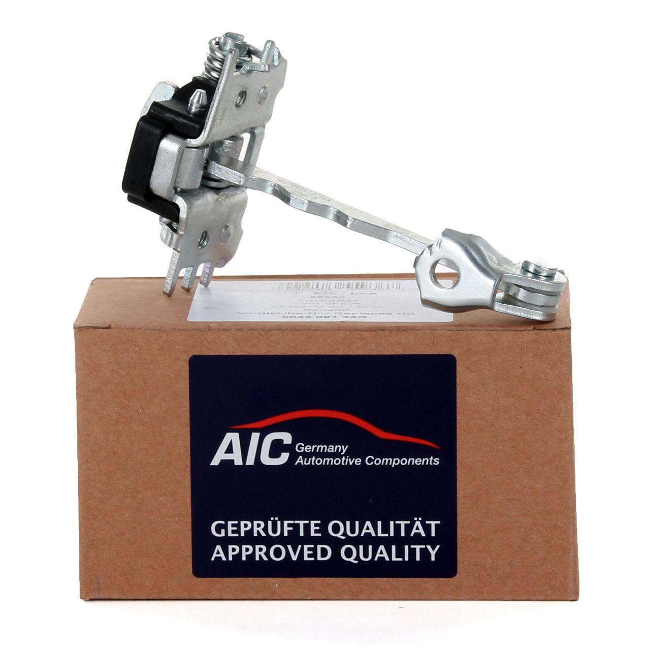 AIC Türfeststeller Türhalteband Türfangband für RENAULT GRAND / SCENIC III vorne