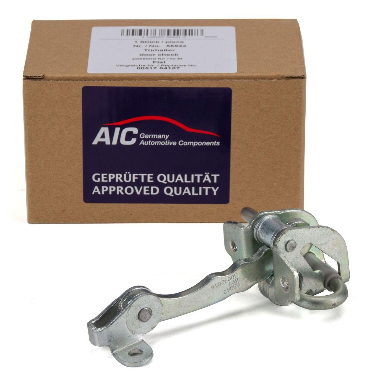 AIC Türfeststeller Türsteller Türfangband FIAT Punto 188 bis 05.2003 vorne