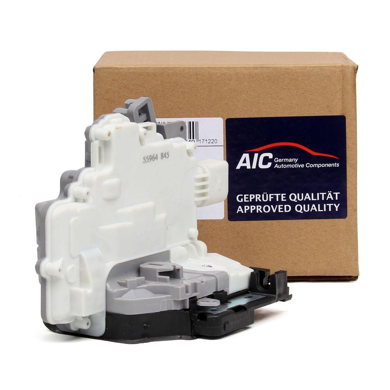 AIC Türschloss Stellmotor für AUDI A4 A5 Q3 Q5 Q7 PORSCHE Cayenne Panamera hinten rechts