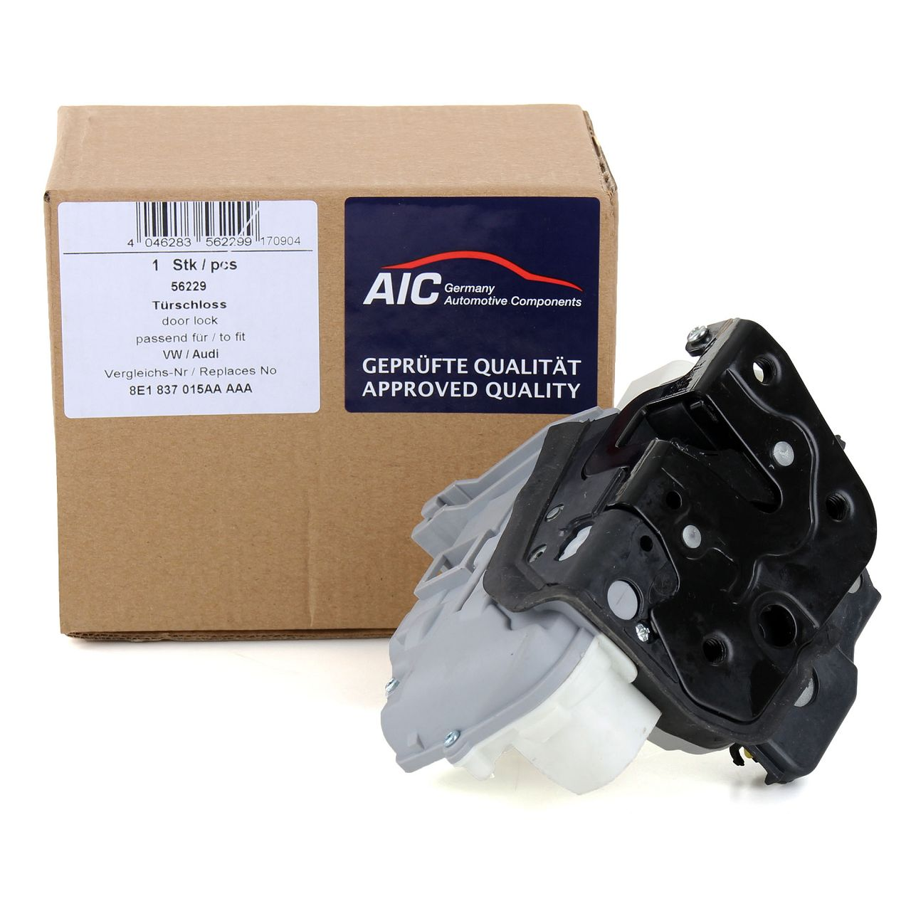 AIC Türschloss Stellmotor für AUDI A3 8P A4 B7 A6 C6 A8 4E SEAT EXEO vorne links