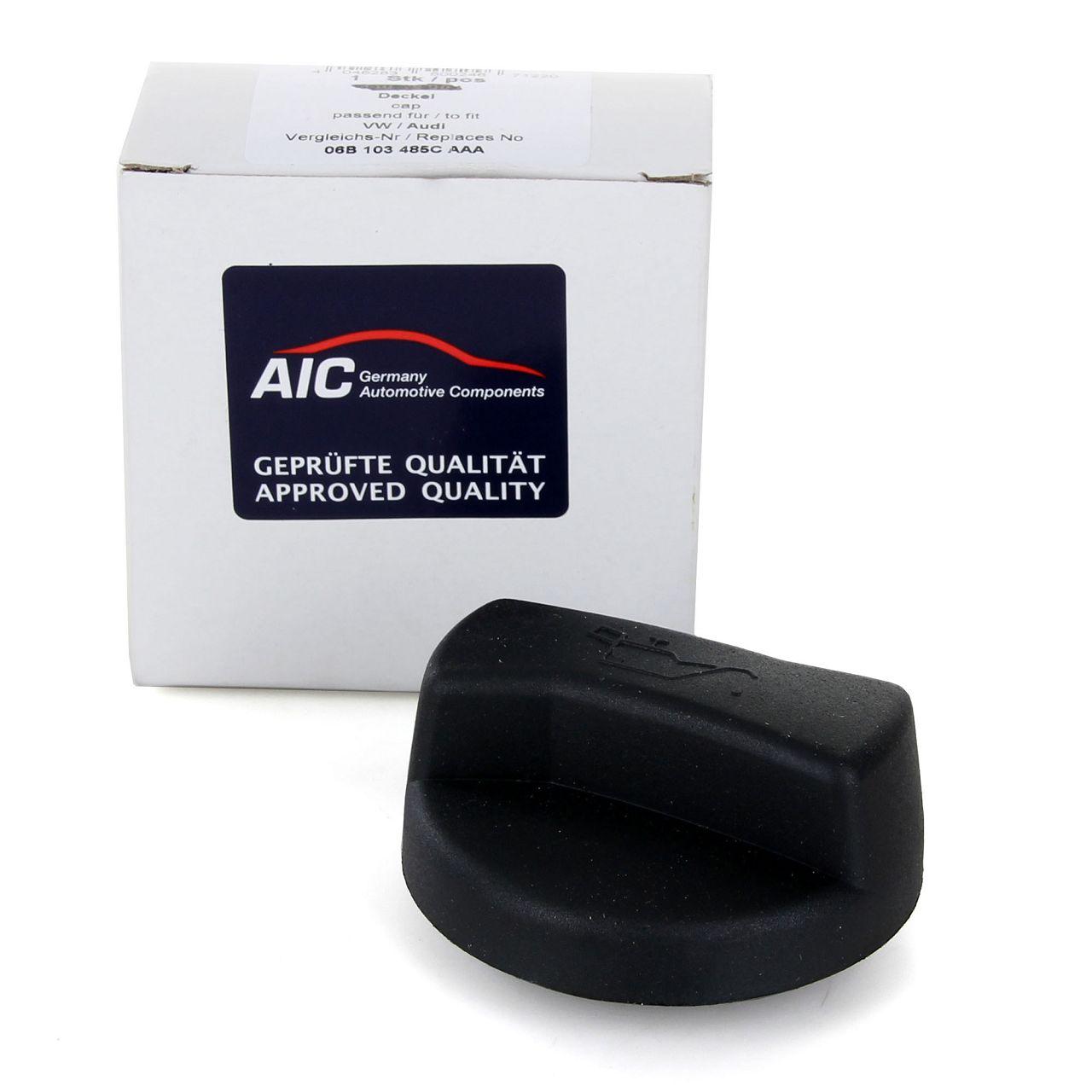 AIC Öldeckel Öleinfülldeckel für AUDI FORD SEAT SKODA VOLVO VW 06B103485C