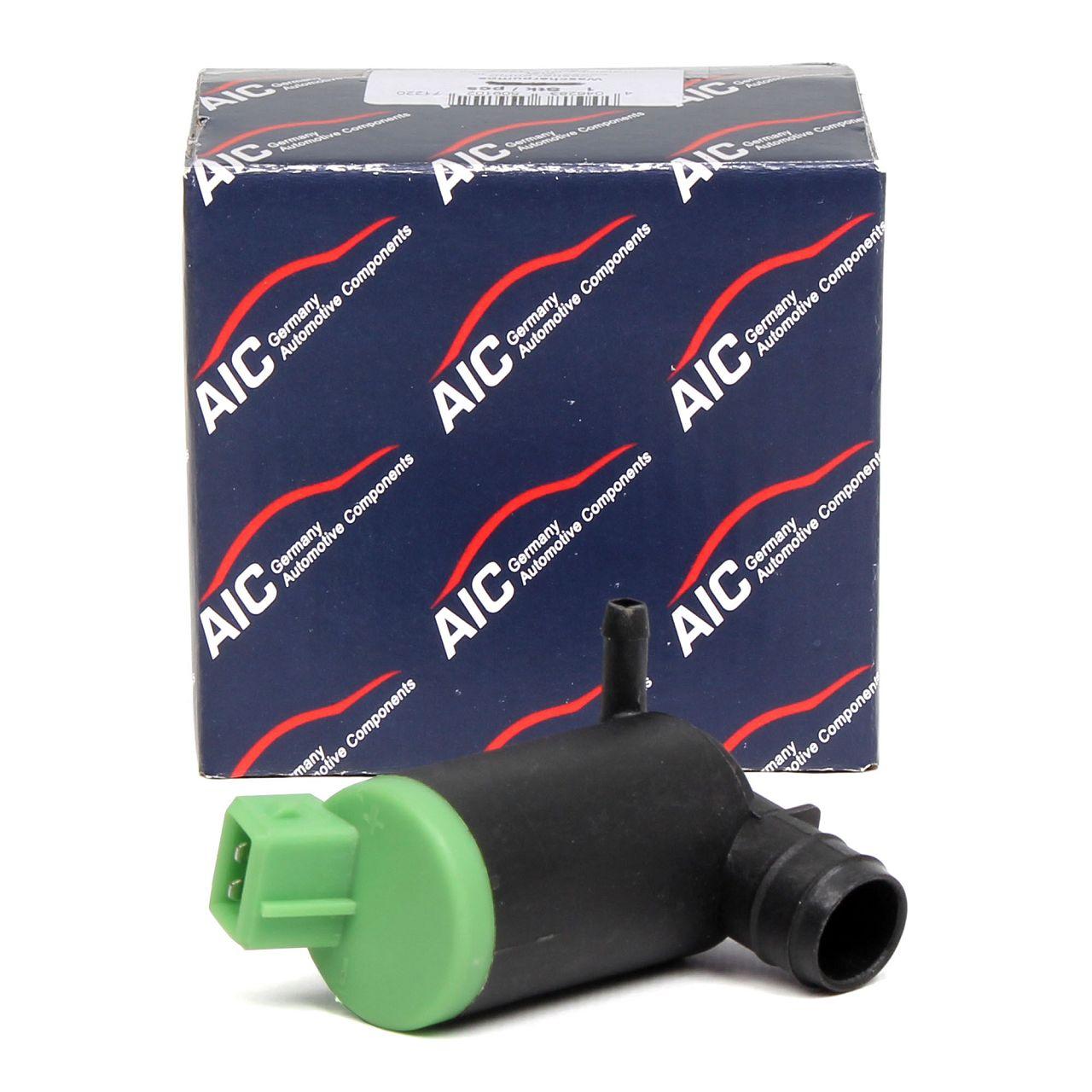 AIC Waschwasserpumpe Spritzwasserpumpe CITROEN Berlingo FIAT Scudo PEUGEOT 106 206 605
