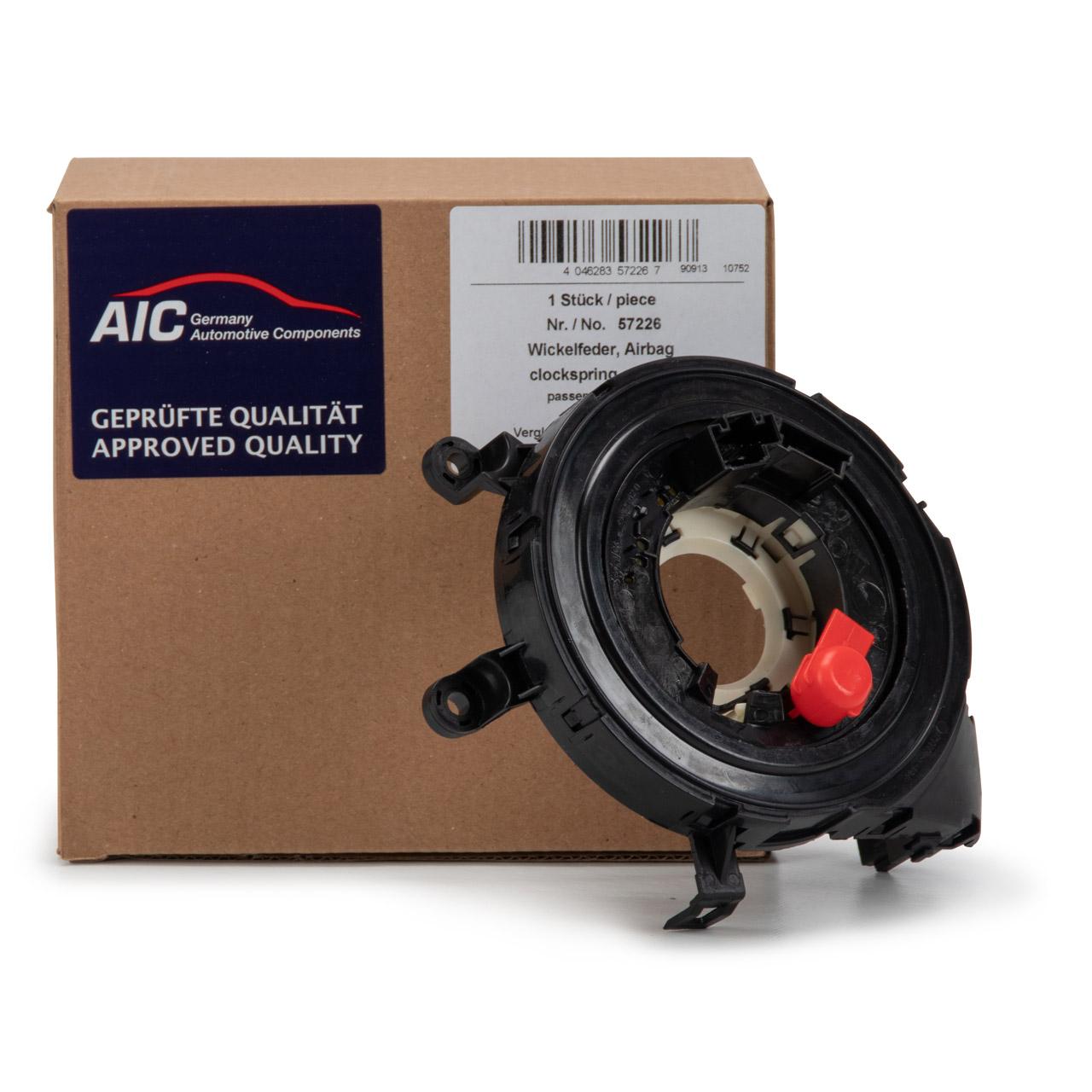 AIC 57226 Wickelfeder Schleifring Airbag 1er E81-E88 3er E90-E93 E84 E70 E71 E89