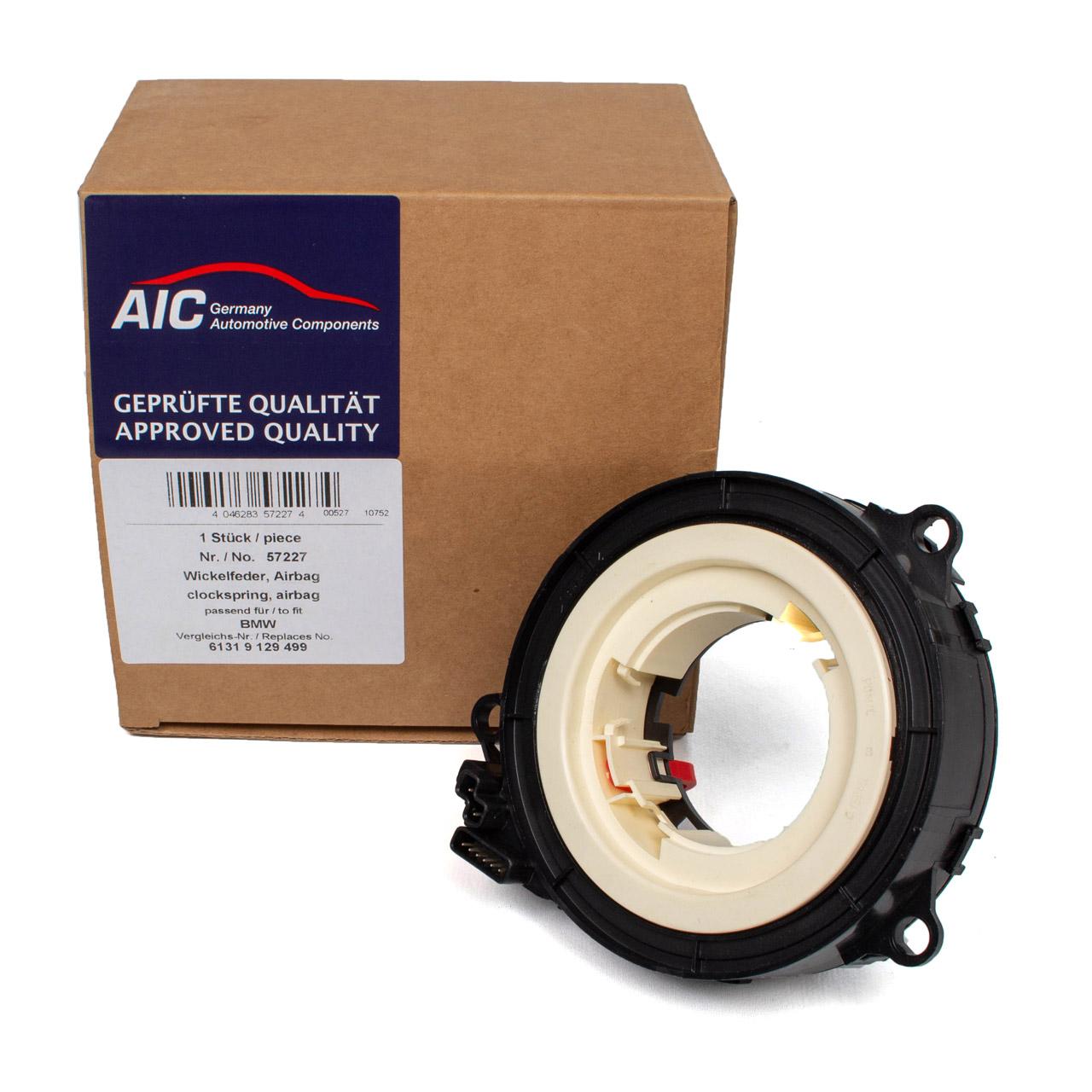 AIC Wickelfeder Schleifring Airbag BMW 5er E60 E61 6er E63 E64 7er E65-67 61319129499