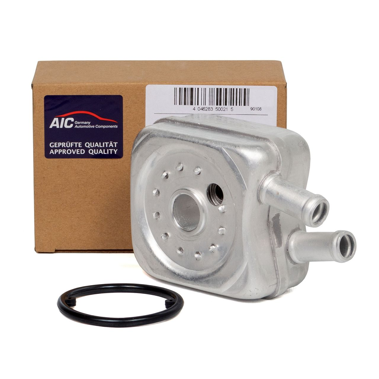 AIC Ölkühler + Dichtung AUDI A4 B5 A6 C4 C5 FORD SEAT Alhambra SKODA VW Polo 6N