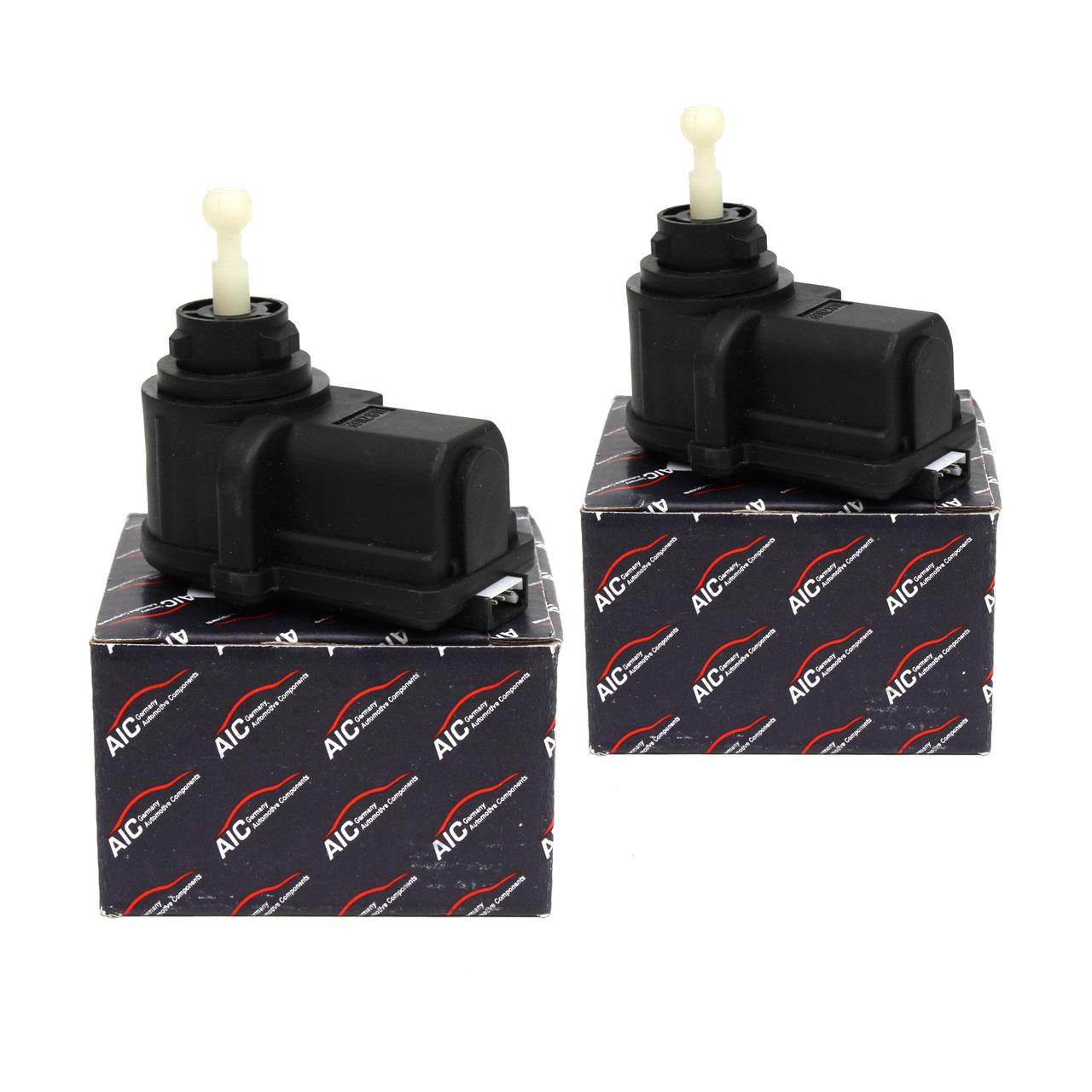 2x AIC Stellmotor Scheinwerfer Leuchtweitenregulierung LWR für FORD FOCUS I MK1