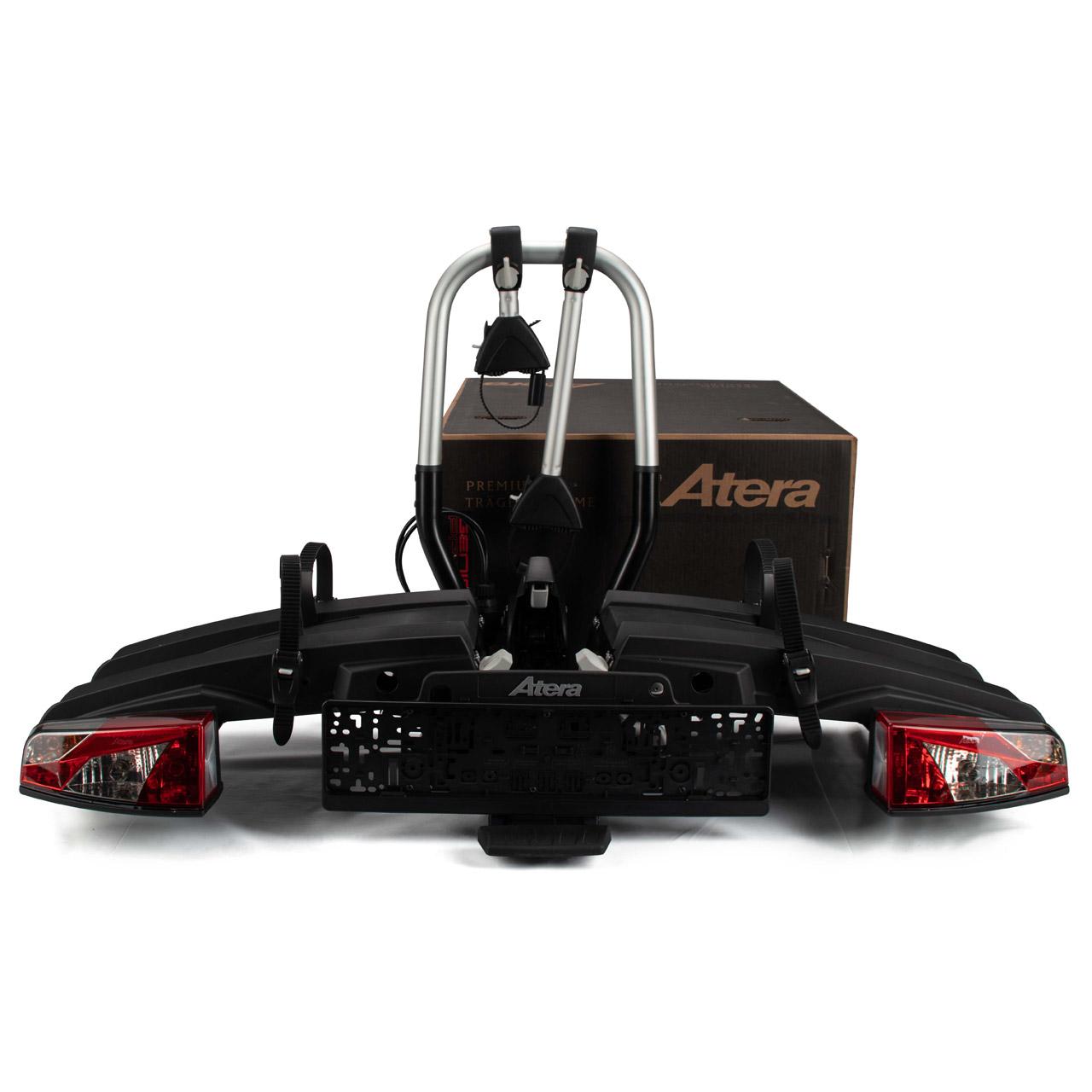 ATERA 22780 AHK GENIO PRO Fahrradträger Heckträger Kupplungsträger für 2 Räder