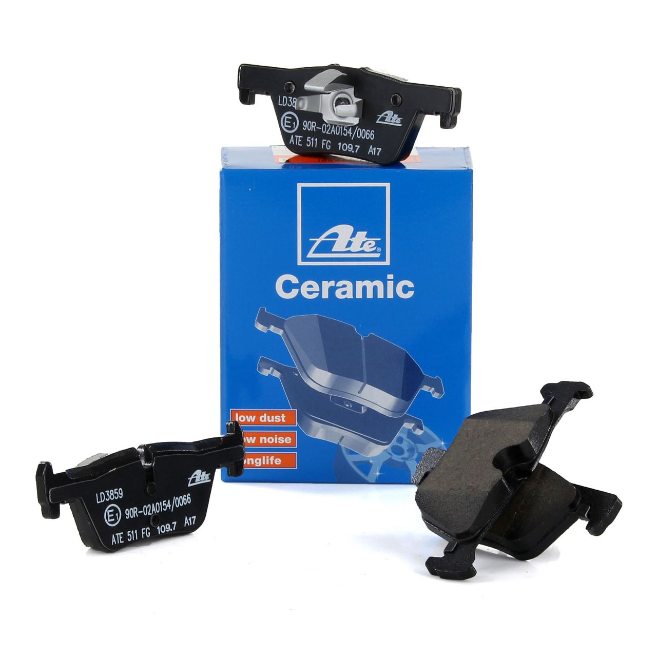 ATE 13.0470-3859.2 Ceramic Bremsbeläge BMW F20 F21 F22 F23 F30 F31 F34 F32 F33 F36 hinten