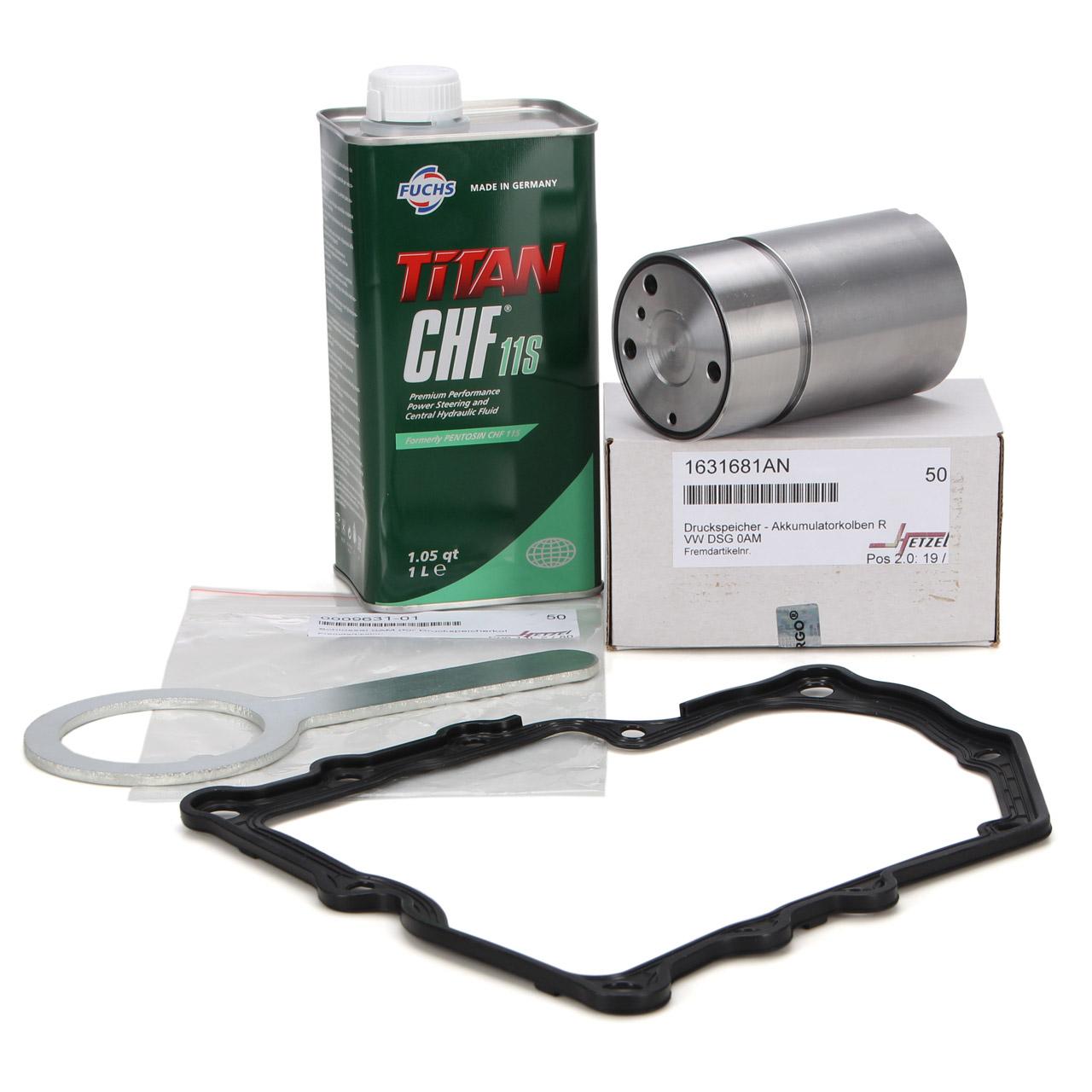 Kleiner Reparatursatz Werkzeug Dichtung CHF 11S Hydrauliköl für 7-Gang DSG 0AM DQ200
