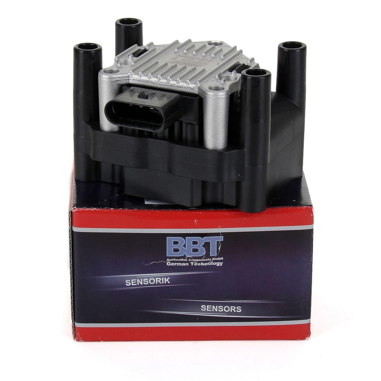 BBT Zündspule 4-polig IC03104 für 1.4 16V 75 PS + 1.6 100-102 PS 032905106F