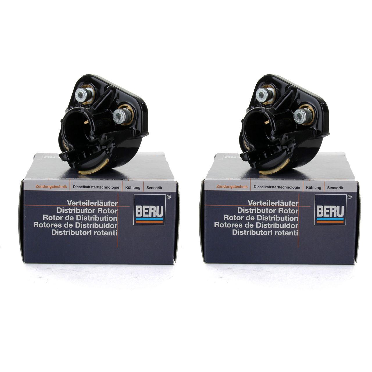 2x BERU EVL183 Verteilerfinger für MERCEDES W124 R129 W119 400-60AMG 0300900183