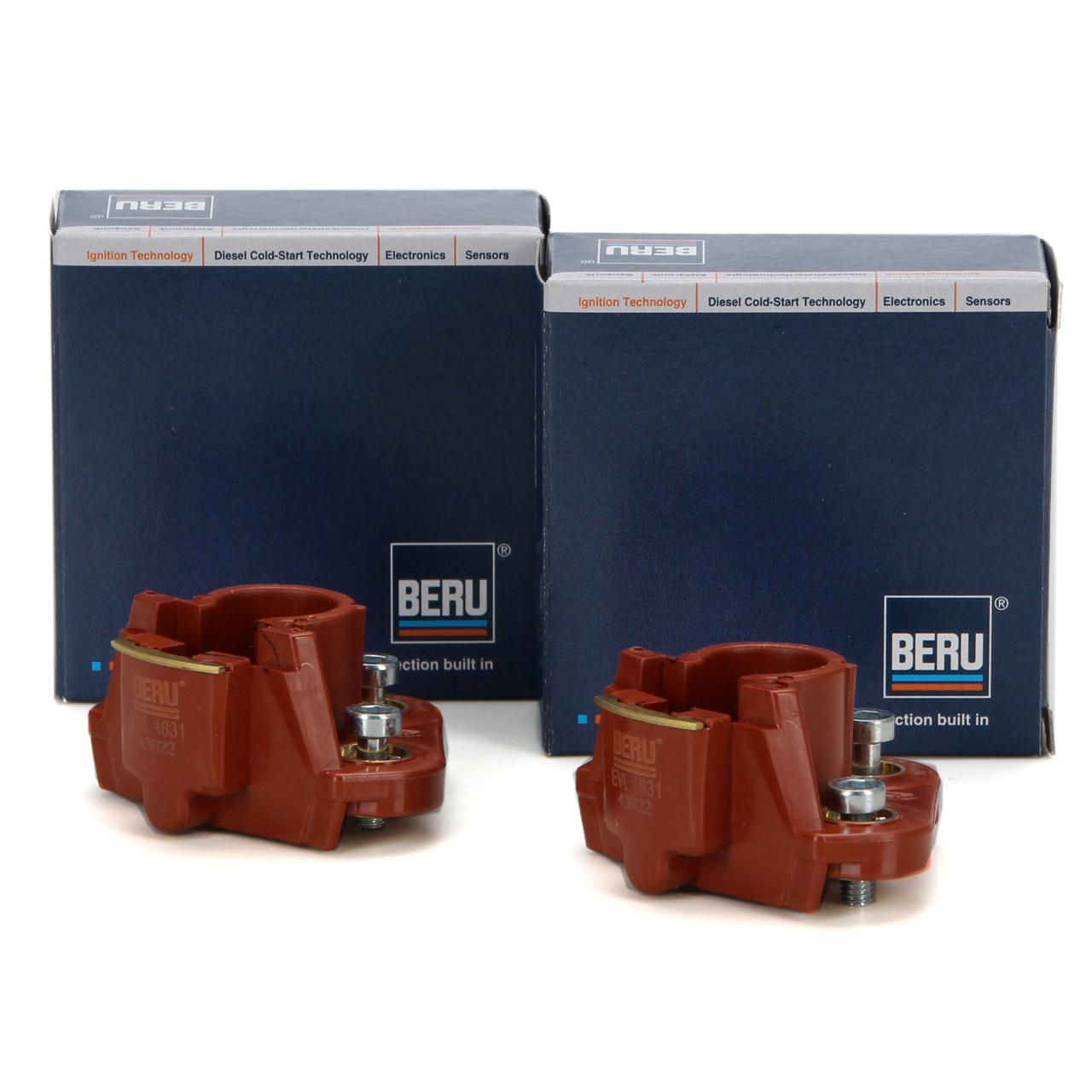 2x BERU EVL1831 Verteilerfinger für MERCEDES W124 R129 W119 400-60AMG 0300900183