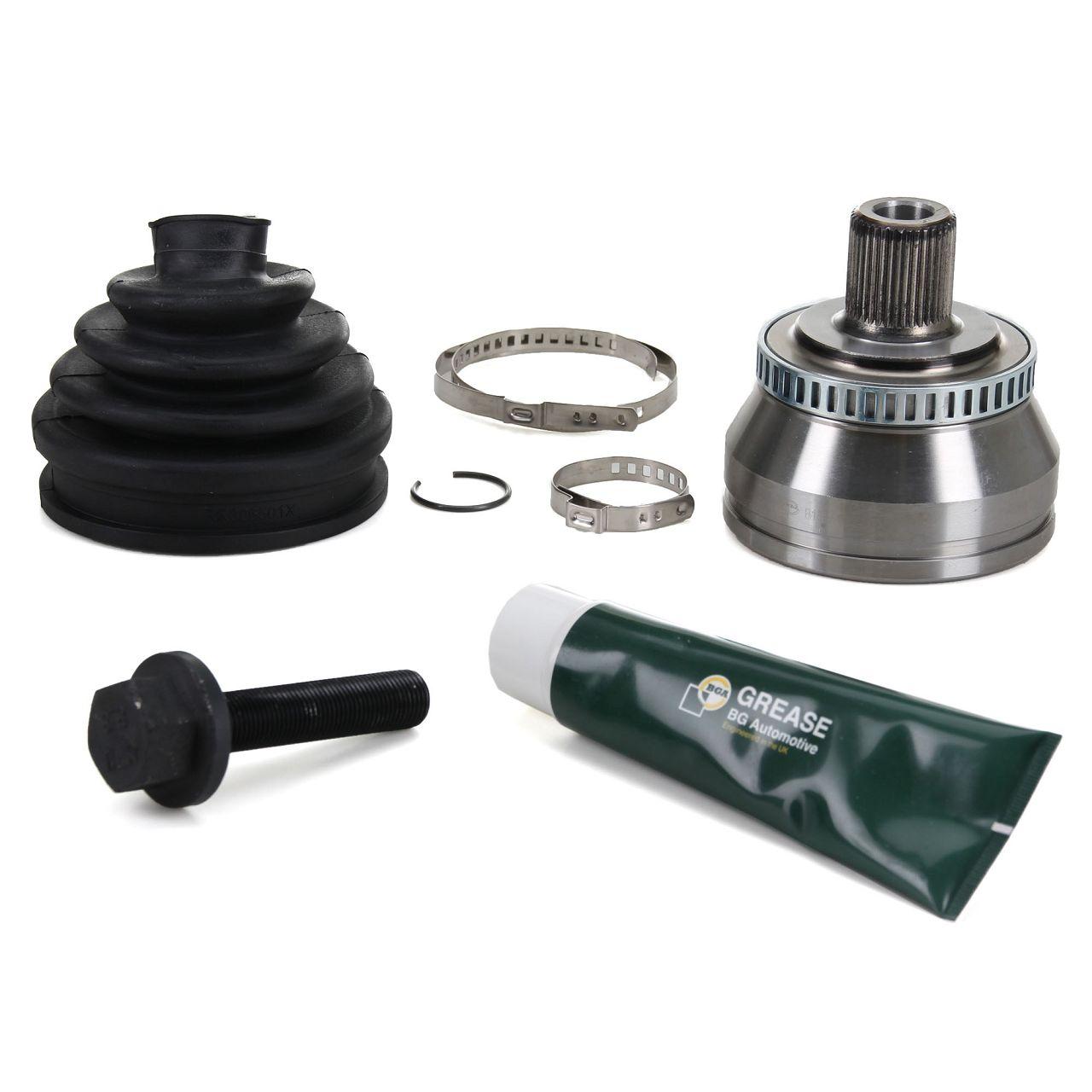 BGA Antriebsgelenk Gelenksatz für AUDI A4 B6 B7 + A4 CABRIO 8H vorne radseitig