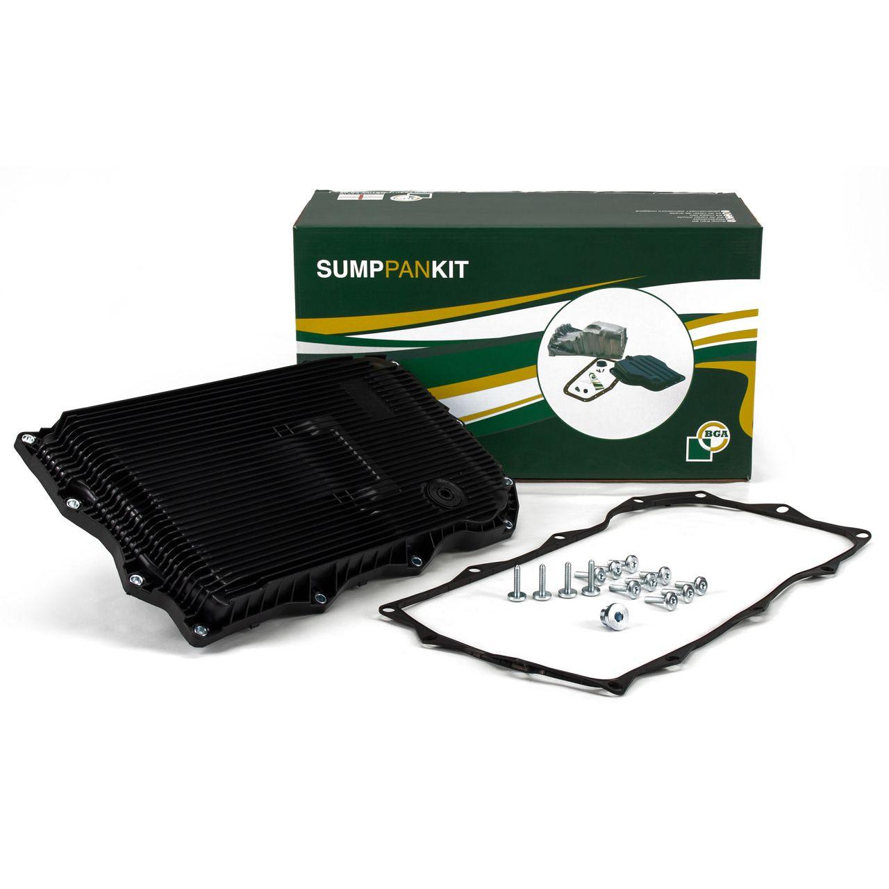 BGA Getriebeölwanne Ölwanne für BMW GA 8HP70 Z + Filter + Dichtung 24117624192