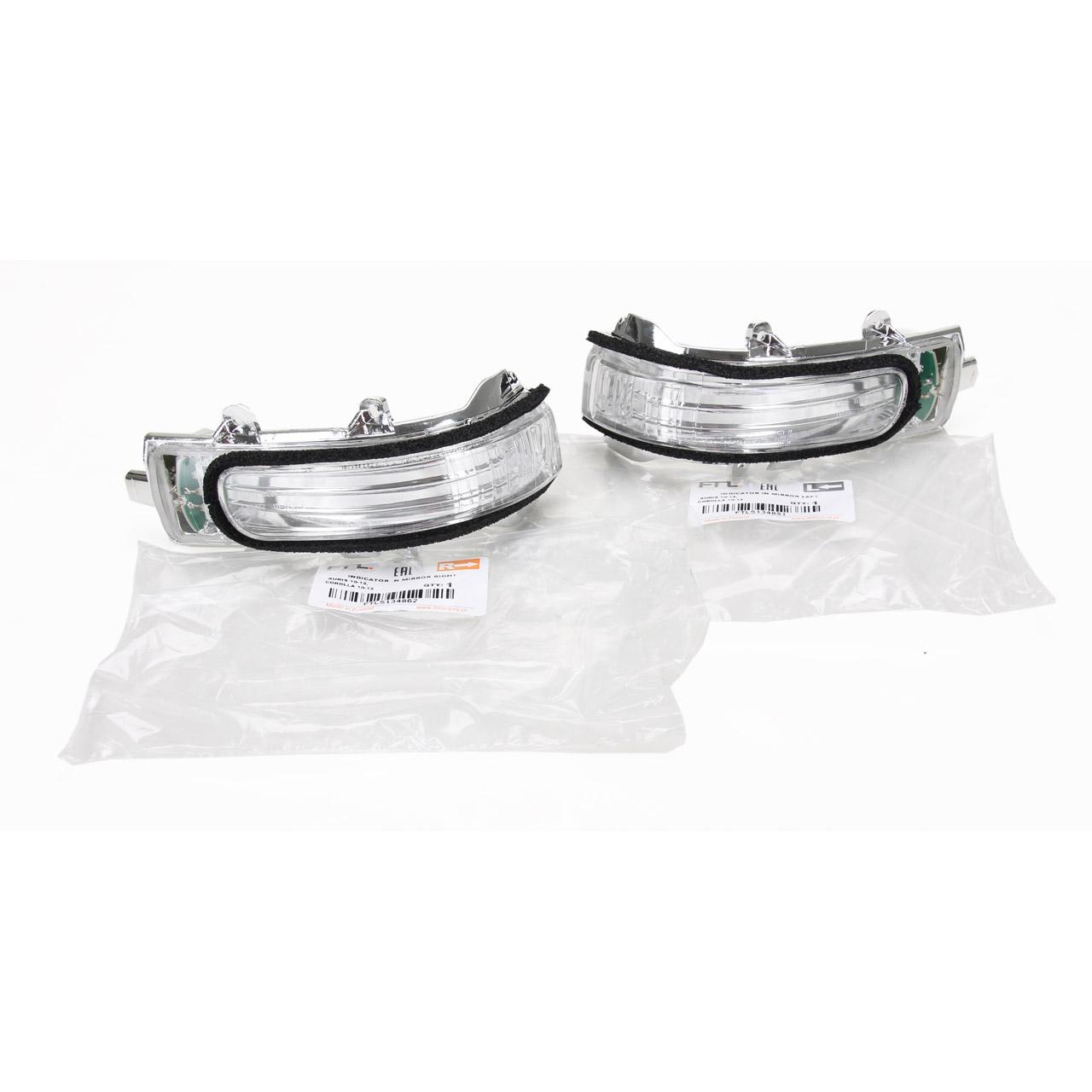 2x Blinkleuchte Blinker Außenspiegel LED TOYOTA Auris + Kasten Corolla Stufenheck