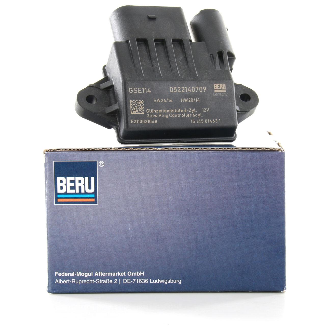 BERU GSE114 Steuergerät Glühzeit Glühkerzen für MERCEDES 3.0L CDI 6429005801