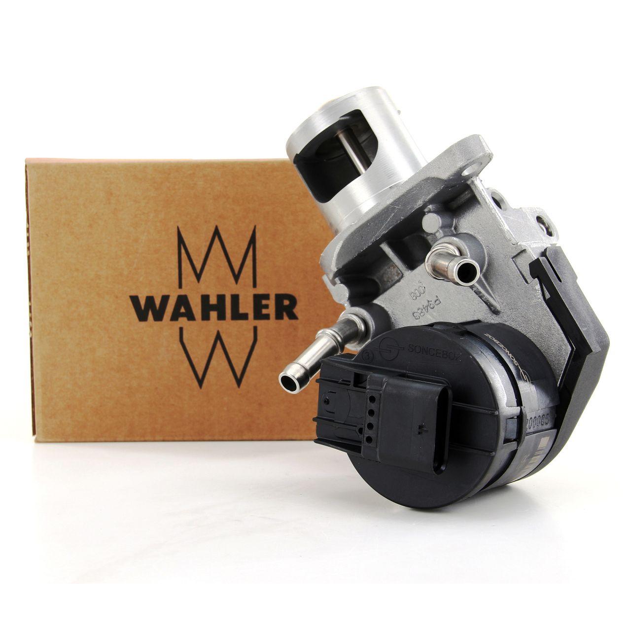 WAHLER 710327D AGR Ventil BMW 1er E87 F20 3er E90 F30 5er X3 X5 2.0/3.0D 11717810871