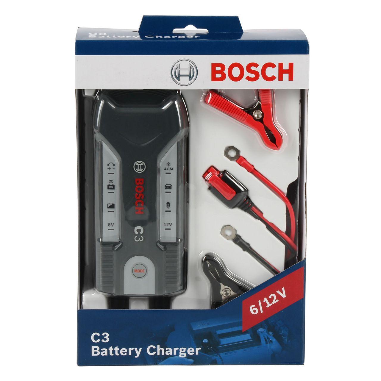 BOSCH 018999903M Mikroprozessor-Batterieladegerät C3 6V-12V Automatik 120Ah