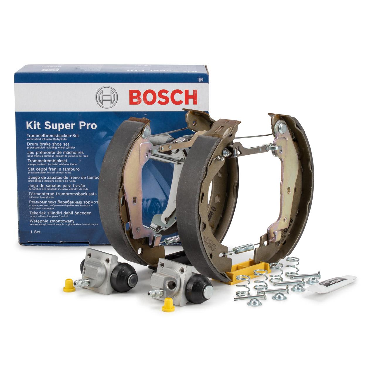 BOSCH 0204114676 Bremsbacken Satz KIT SUPERPRO SMART Fortwo Cabrio/Coupe 451 hinten