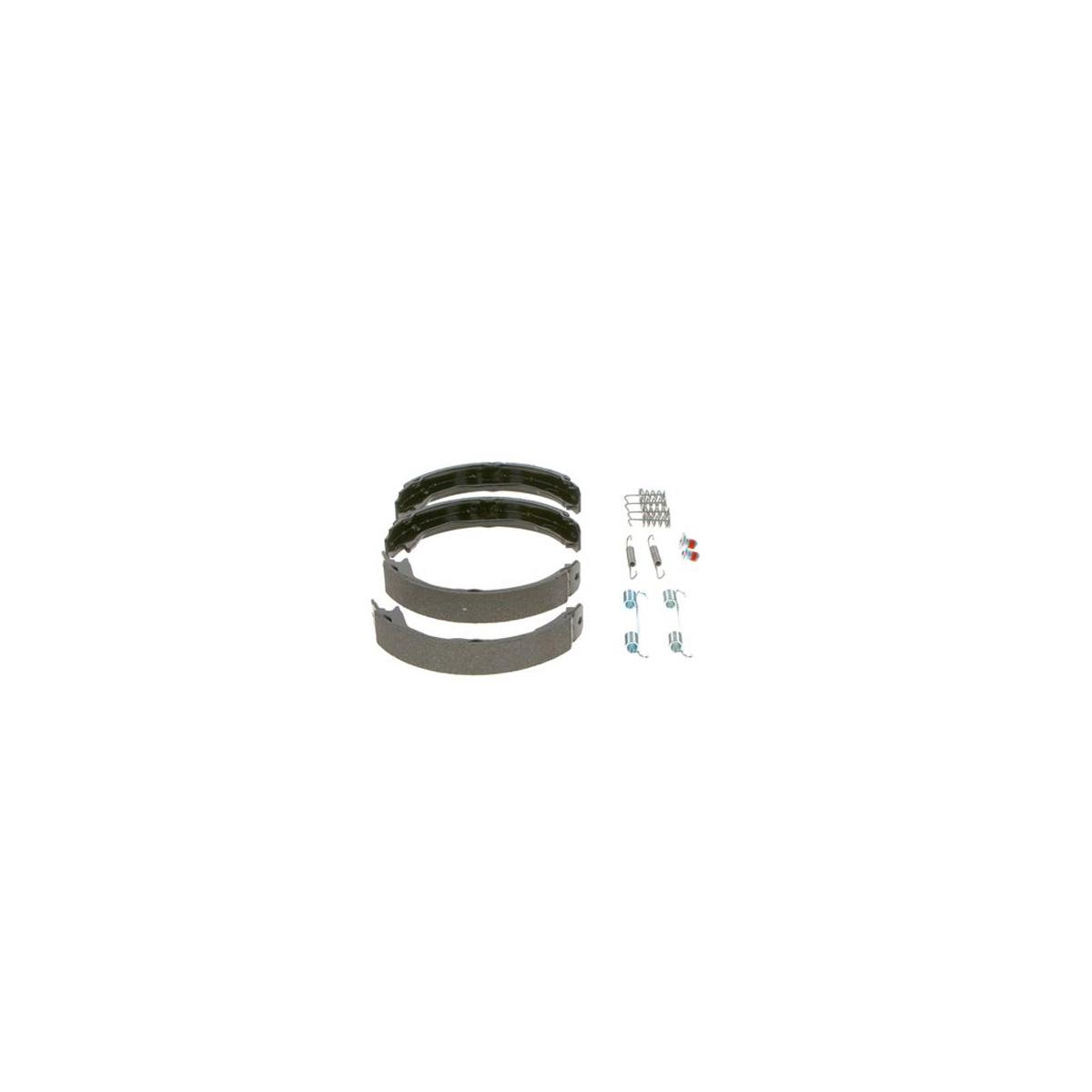 BOSCH 0986487723 Bremsbacken + Zubehörsatz MERCEDES W204 S204 C204 C207 A207 hinten