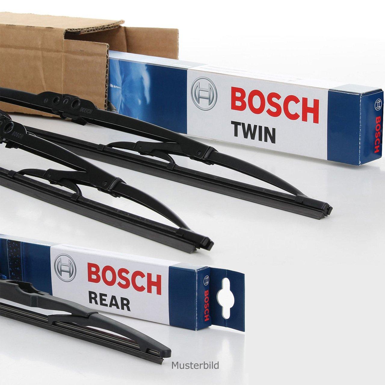 BOSCH Scheibenwischer Wischerblätter Set 531S + H250 für Suzuki Swift III IV