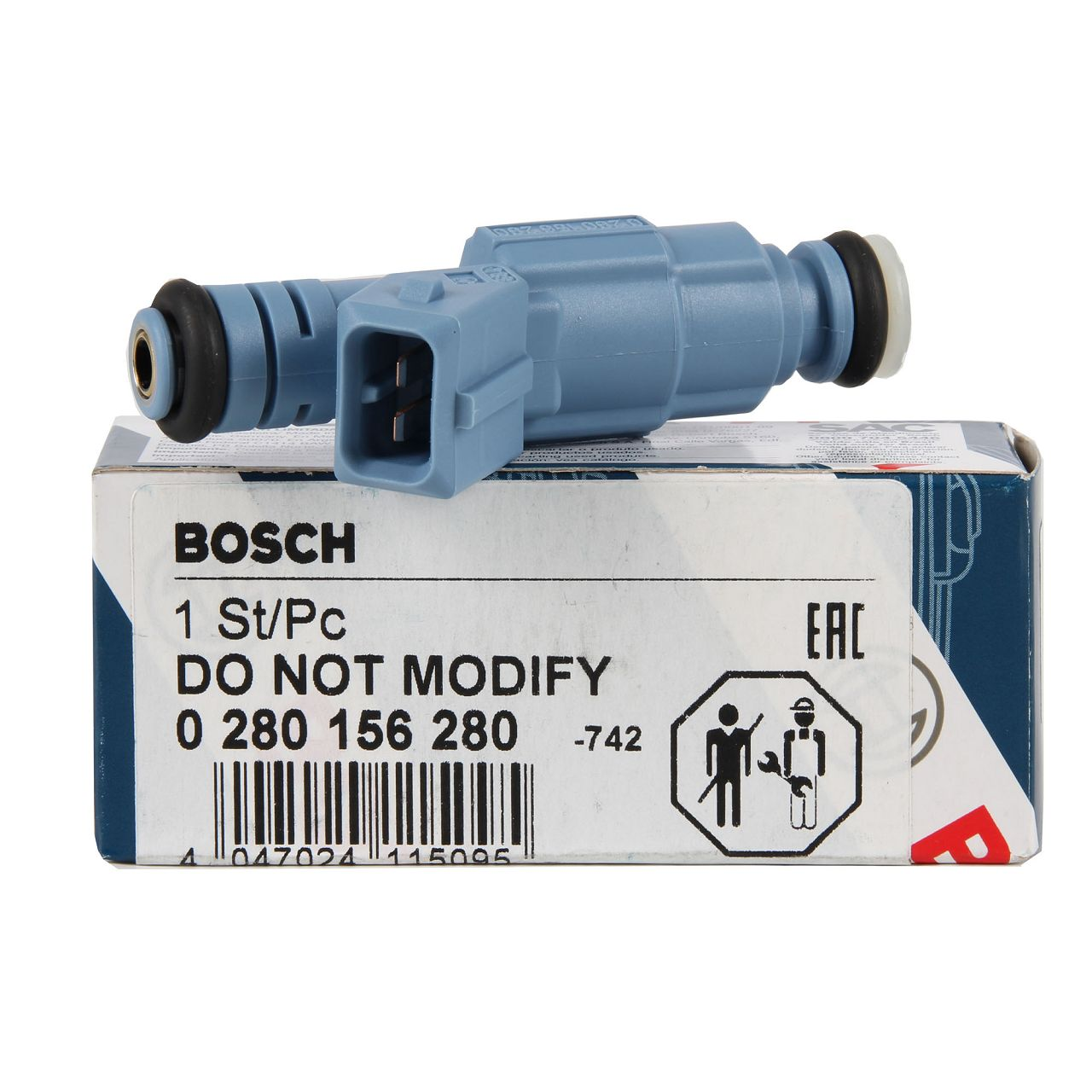 BOSCH EV6 Einspritzventil Einspritzdüse OPEL Astra H Zafira B 2.0 Turbo OPC