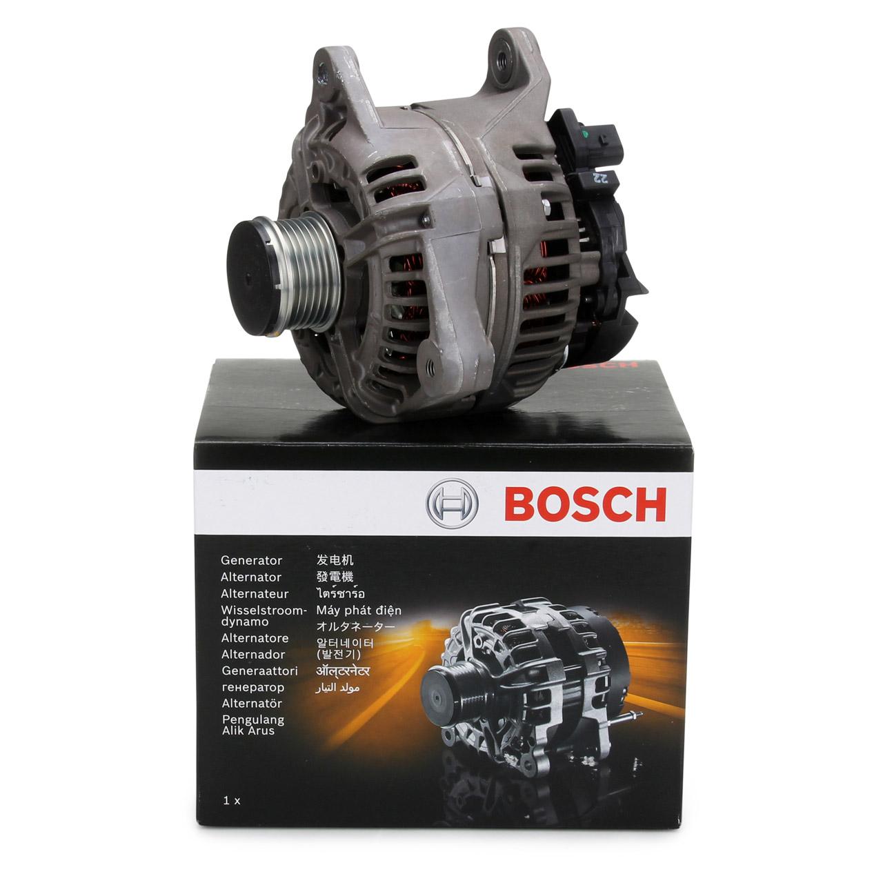 BOSCH 0124525107 Lichtmaschine 12V 150A für PORSCHE 911 997 3.8 Carrera S 3.6