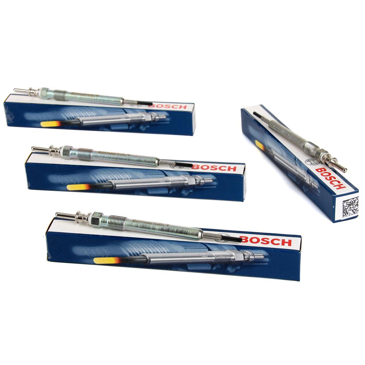 4x BOSCH GLP173 0250603006 Glühkerze für BMW MINI 4-Zylinder N47 B47 12230035934