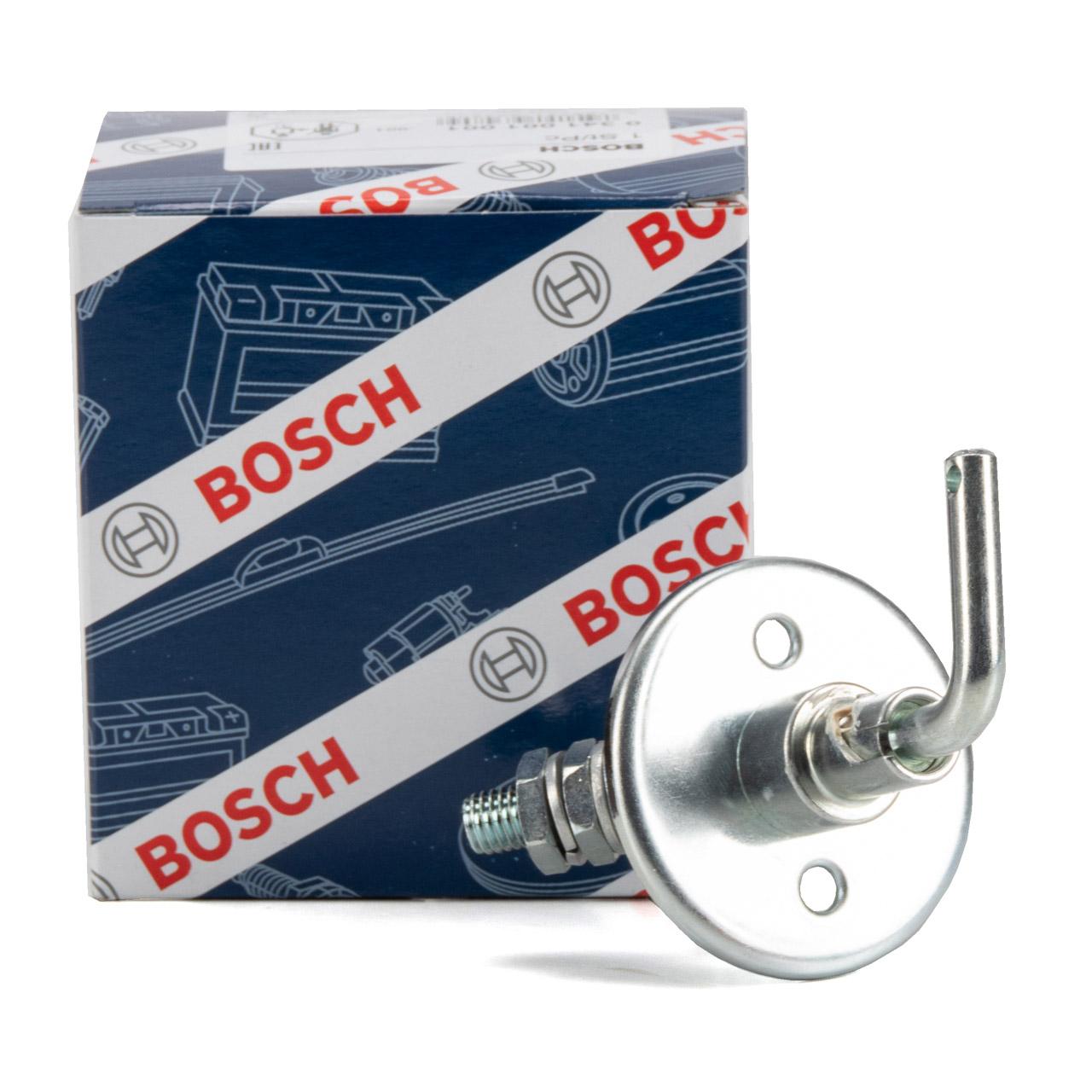 BOSCH 0341001001 Hauptschalter Batterie für FAUN FENDT HARVESTER MAN SCANIA VW