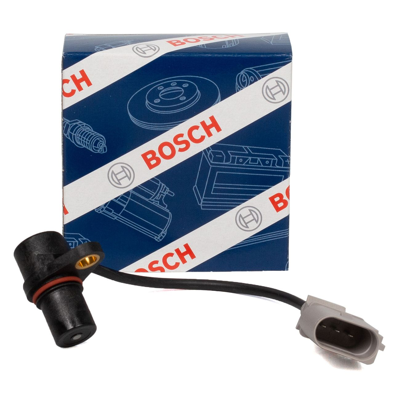 BOSCH 0261210199 Kurbelwellensensor AUDI A3 8L 8P A4 8E SEAT SKODA VW Golf 4 5 6