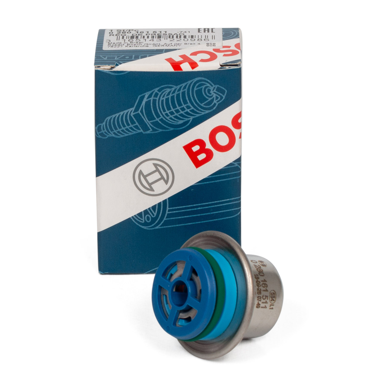 BOSCH 0280161511 Kraftstoffdruckregler MERCEDES W203 S203 CL203 W210 R171 M111 M271