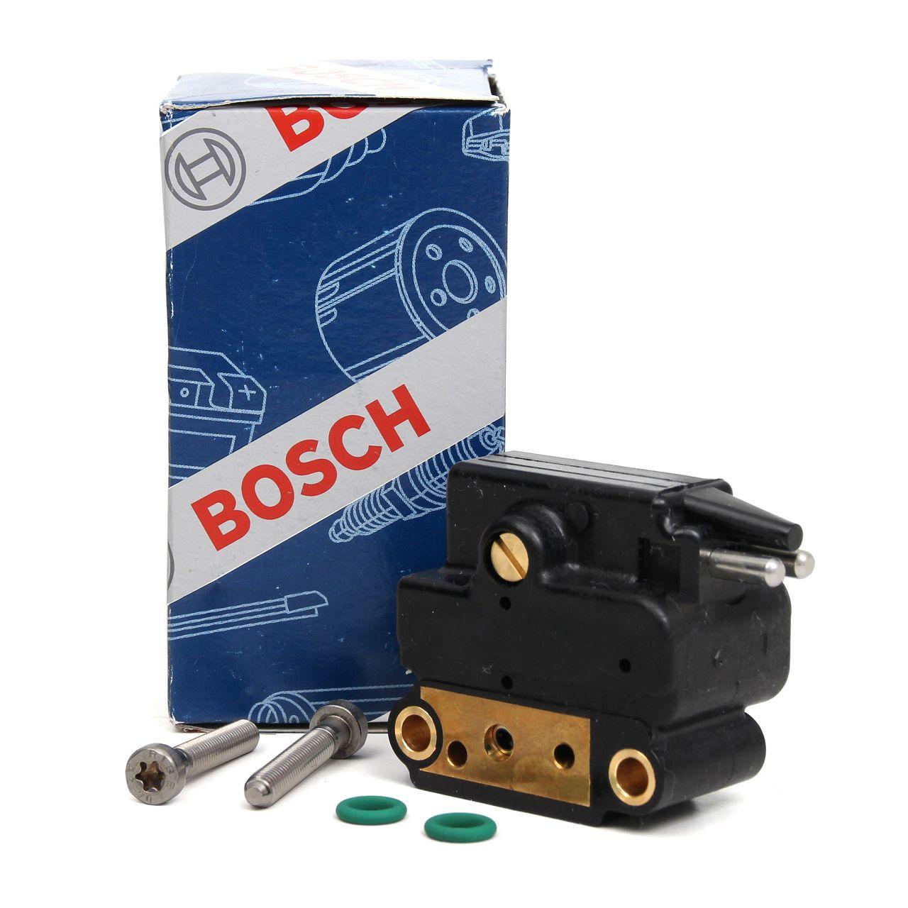 BOSCH F026T03002 Kraftstoffdruckregler Drucksteller inkl. Dichtungen + Schrauben
