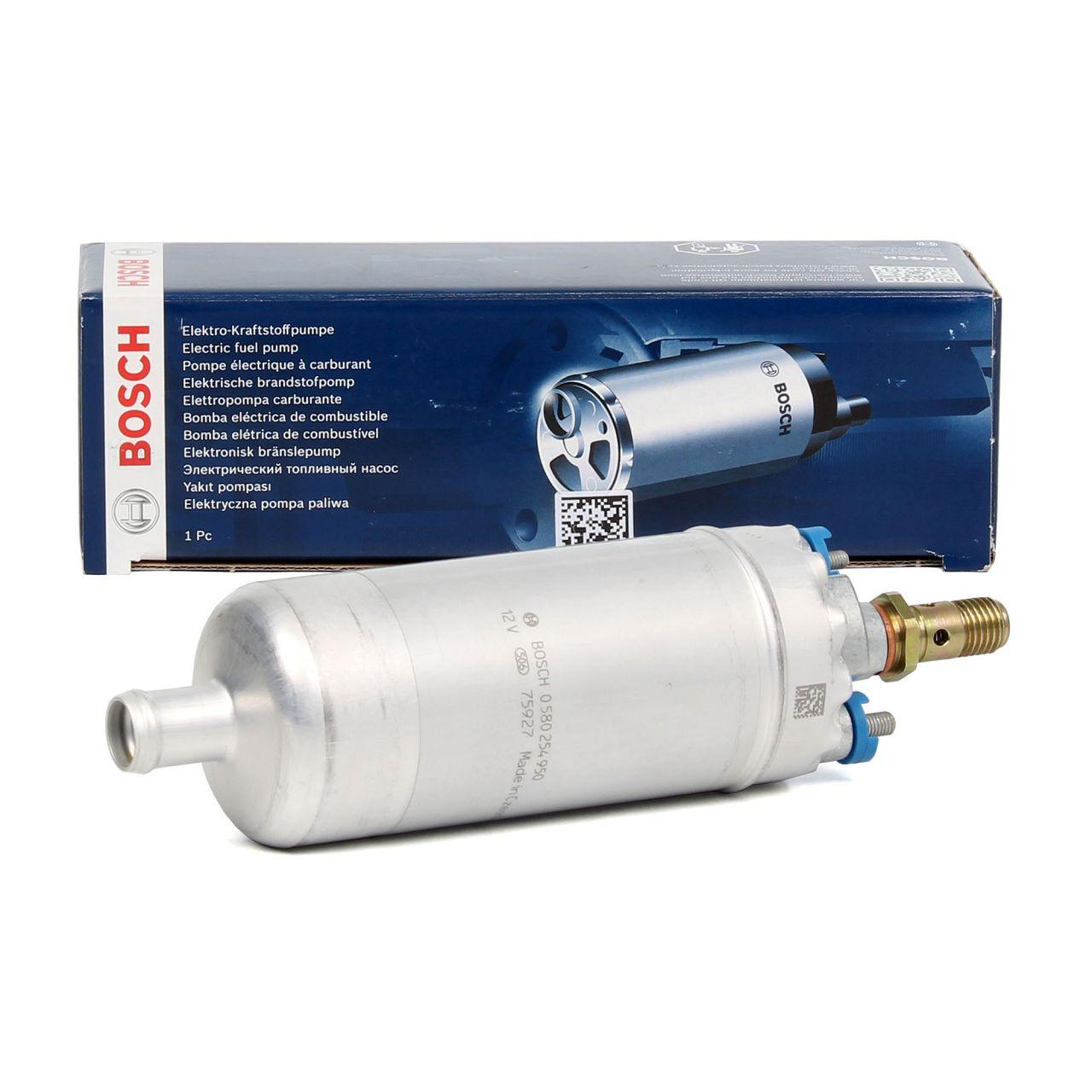 BOSCH Kraftstoffpumpe Benzinpumpe für MERCEDES 190 W201 W124 W210 W126 W140 uvm.