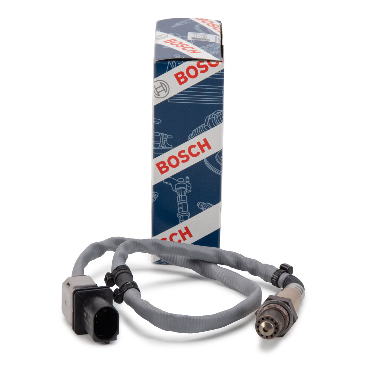 BOSCH 0258017218 Lambdasonde VOR Kat PORSCHE Panamera 970 3.6-4.8 Turbo links